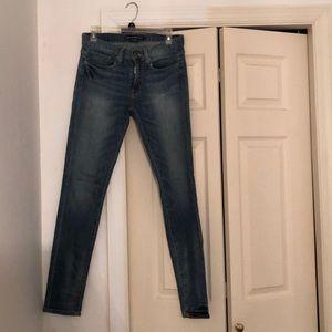 1 pair Light wash & 1 Dark Wash Jeans